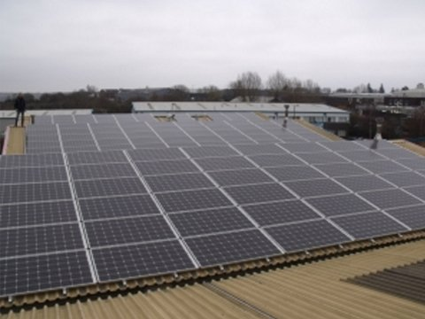 Solar Panels - Reduce Carbon Footprint MHP