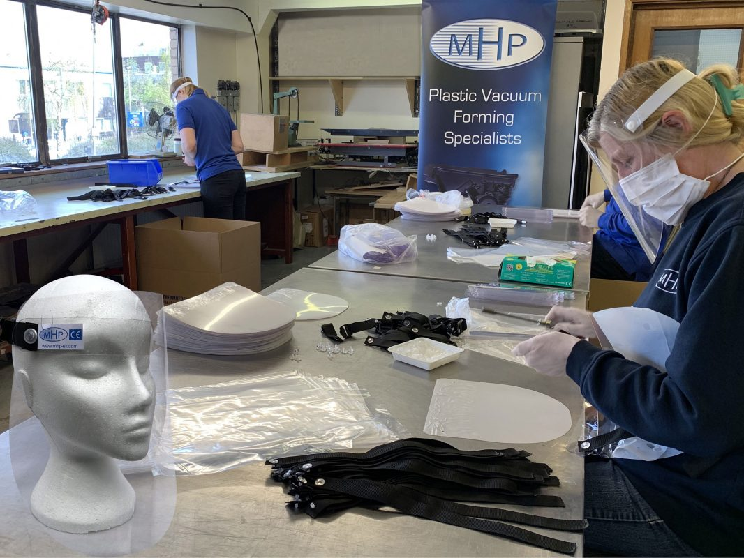MHP Face Visors - PPE Safety Equipment