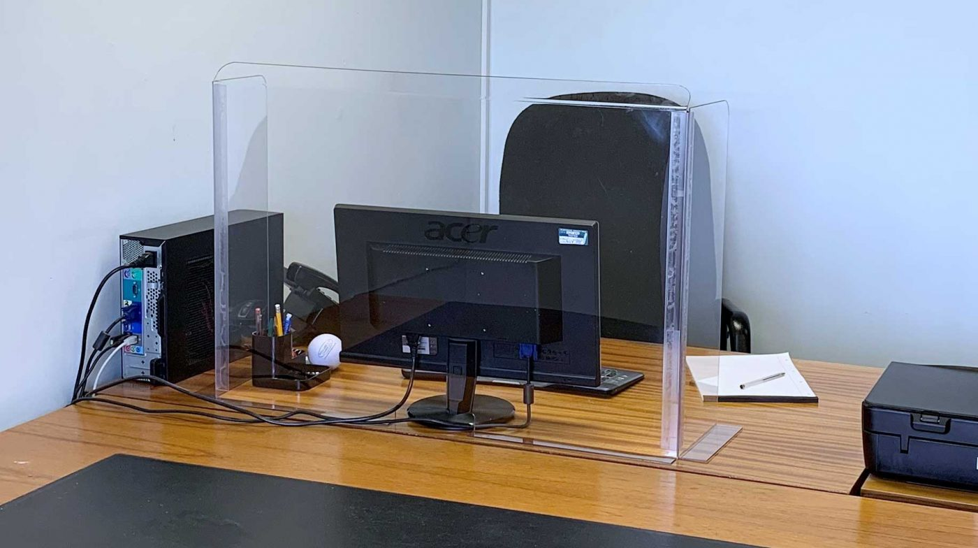 Desk Shield - Office Safety Screen