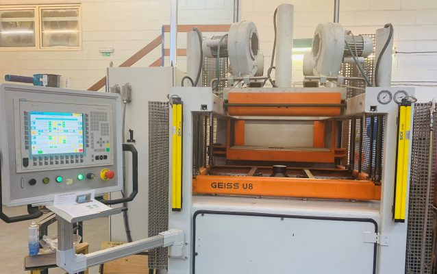 Our New Vacuum Forming Machine